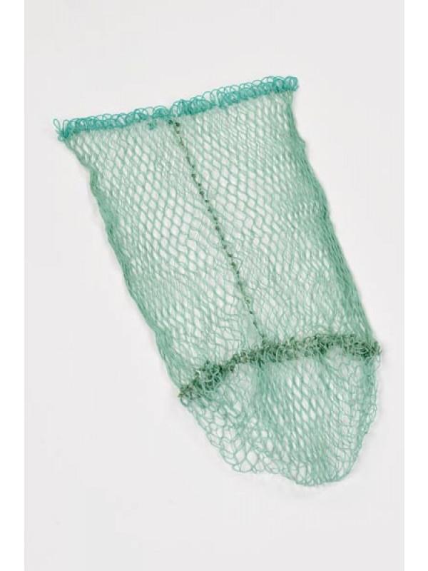 Anglerkescher Polyamid 50 cm Bügelbreite, 60 cm tief, 15 mm Maschenweite