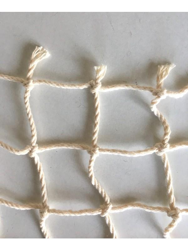 Baumwollnetz 40 mm Maschenweite, 2,5 mm Garnstärke