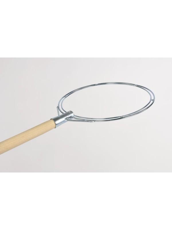 Reformkescherbügel aus verzinktem Stahl, rund, 40 cm Durchmesser