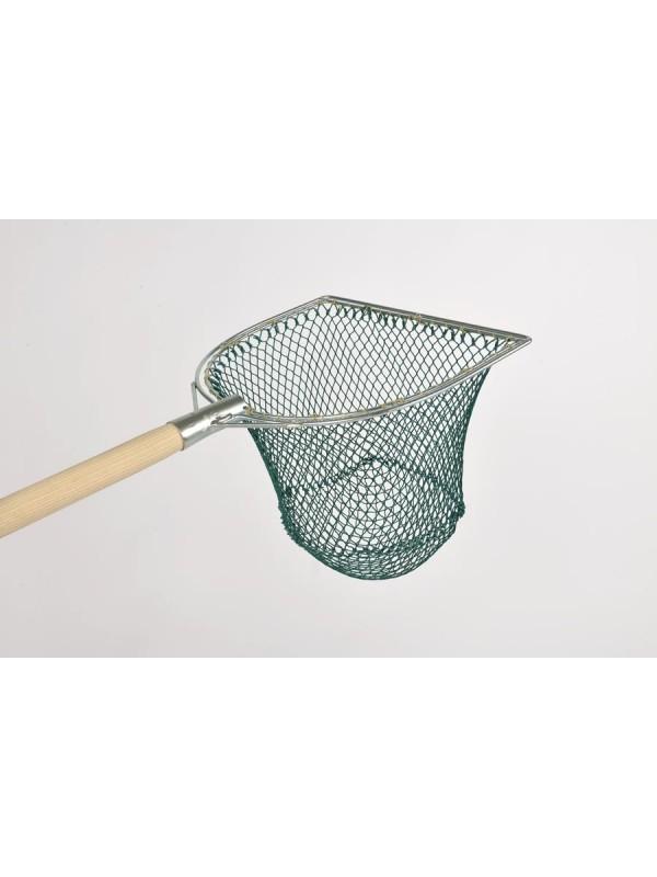 Reformkescherbügel kompl. 30 cm Bügelbreite, mit Netz 15 mm Maschenweite
