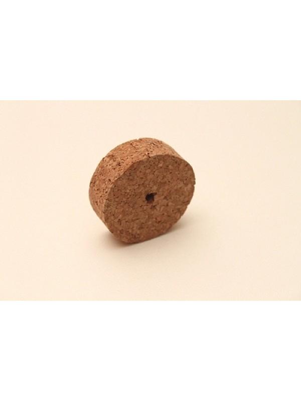 Naturkorken aus Naturkork in Scheibenform 6 cm Durchmesser und 2 cm stark.