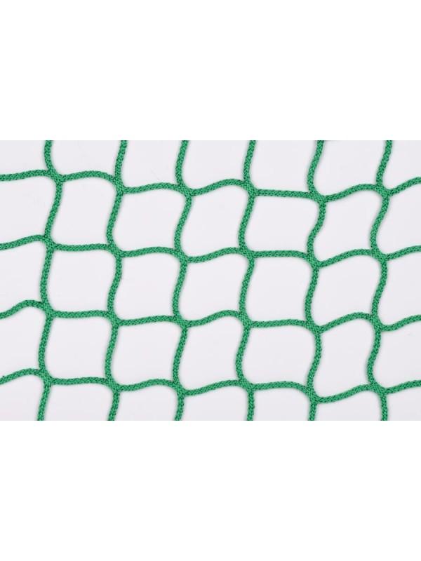 Silo-Abdecknetz, 4,5 m Durchmesser, rund geschnitten.