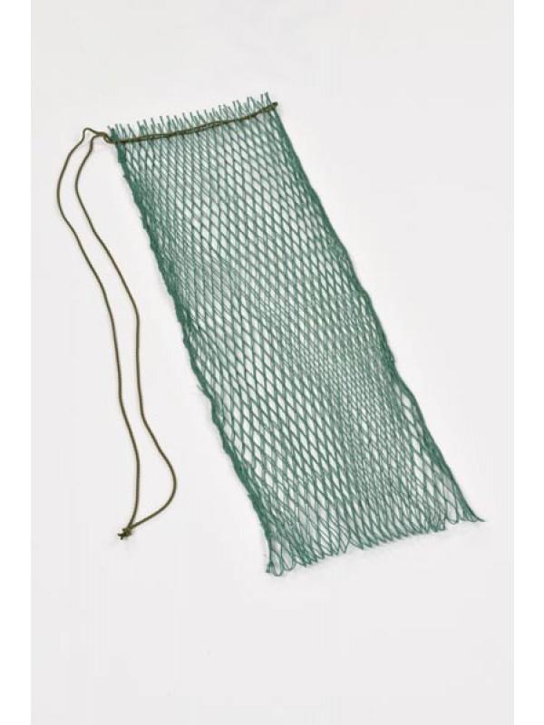 Fischtragnetz 70 cm lang, 15 mm Maschenweite.