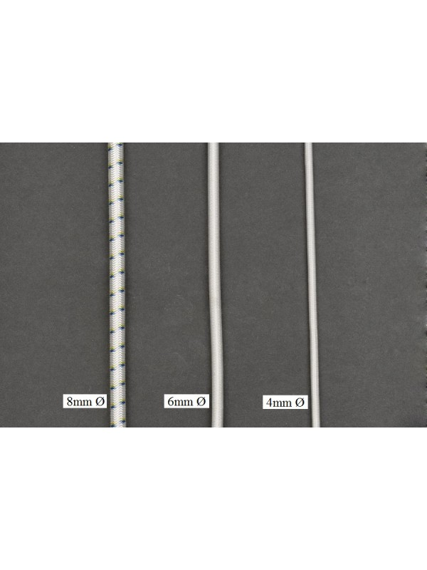 Gummi-Spannseile 8 mm stark