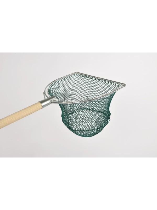 Reformkescherbügel kompl. 50 cm Bügelbreite, mit Netz 10 mm Maschenweite