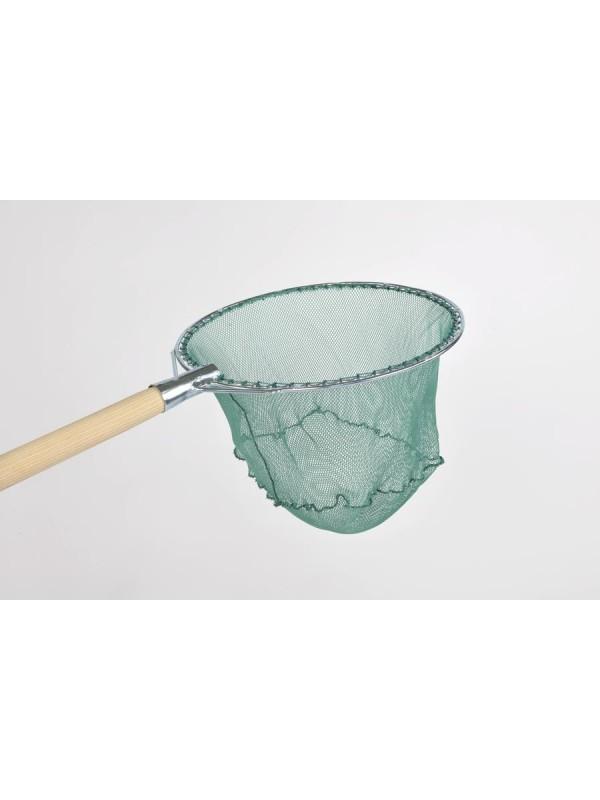 Reformkescherbügel kompl. rund, 40 cm Durchmesser, mit Netz 04 mm Maschenweite