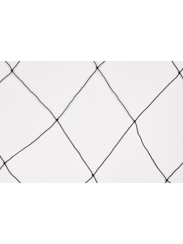 Abdecknetz, Abwehrnetz z.B. gegen Fischreiher, aus Polyethylen 125 mm Maschenweite, 1,2 mm stark.