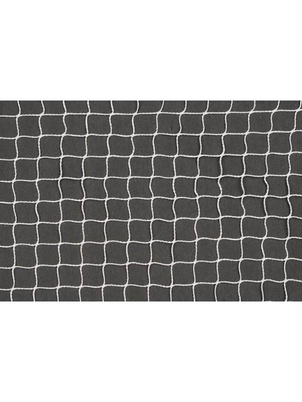 Dekorations- oder Absperrnetz aus PP-hochfest, 30 mm quadratische Maschenweite, 1 mm Ø, in weiß