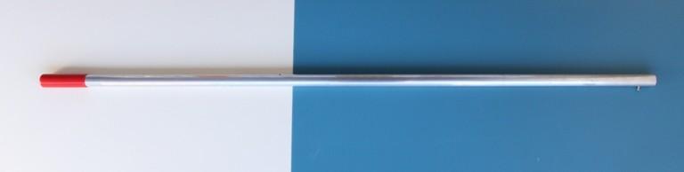Kescherstiel aus Aluminium 1,5 m lang, 30 mm Durchmesser