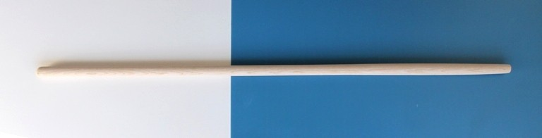 Holzstiel 180 cm lang, 36 mm Durchmesser