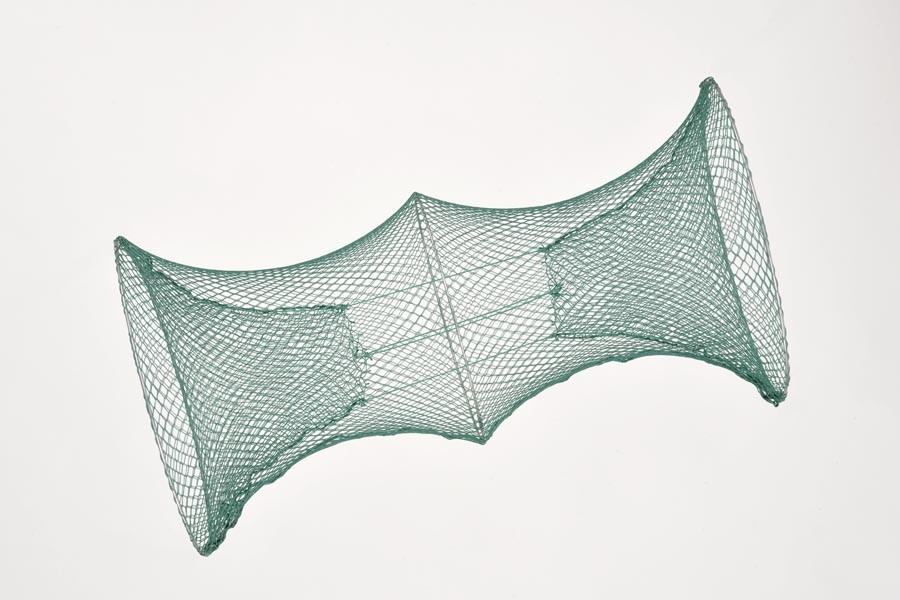 Reuse 50 cm Ø, 05 mm Maschenweite mit 2 Eingänge