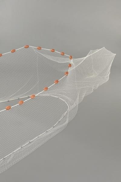 Zugnetz mit Sack Flügelhöhe Mitte 1,0 m und an den Enden 0,80 m, Gesamtlänge: 08 m